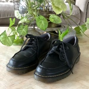 Dr Martens Nashly Black Leather Oxford Men's US 11